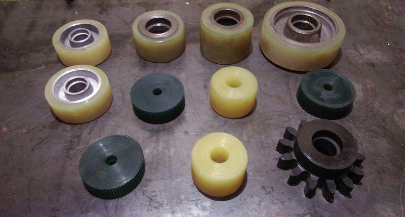 полиуретановые ролики
