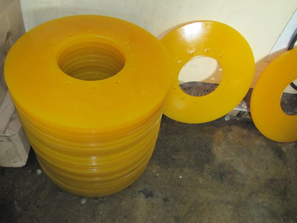 Изготовление уплотняющих манжет из полиуретана 0
