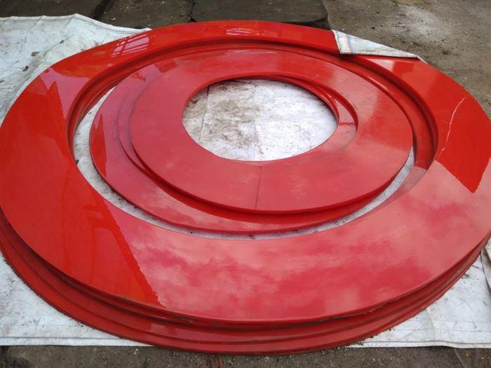 Чистящие и направляющие диски для очистных полиуретановых поршней 0