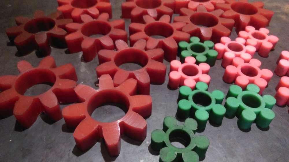 Муфты полиуретановые типа Ротекс 1